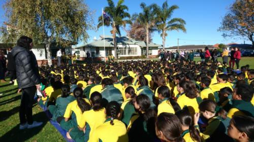 ANZAC Remembrance Assembly